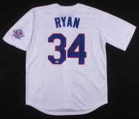 "Nolan Ryan Signed Texas Rangers Jersey Inscribed ""Don't Mess With Texas"" (PSA COA)"