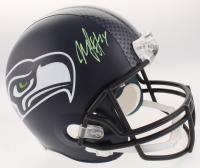 Marshawn Lynch Signed Seattle Seahawks Full-Size Helmet (Radtke COA)
