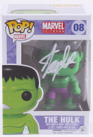 "Stan Lee Signed ""The Hulk"" #08 Funko Pop! Vinyl Bobble-Head Figure (Radtke COA & Lee Hologram)"