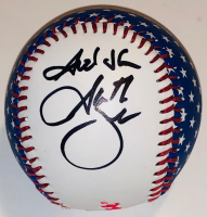 "Garth Brooks Signed Fender Baseball Inscribed ""God Bless"" (PSA COA) at PristineAuction.com"
