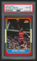 1996-97 Fleer Decade of Excellence #4 Michael Jordan (PSA 10)