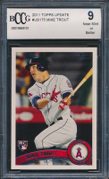 2011 Topps Update #US175 Mike Trout RC (BCCG 9)