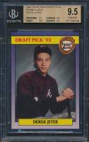 1992 Front Row Draft Picks #55 Derek Jeter (BGS 9.5)