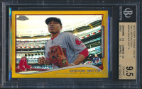 2014 Topps Chrome Update Gold Refractors #MB46 Mookie Betts RC (BGS 9.5) at PristineAuction.com
