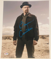 "Bryan Cranston Signed ""Breaking Bad"" 11x14 Photo (PSA COA) at PristineAuction.com"