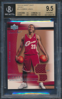 2003-04 Sweet Shot Jerseys #LJJ LeBron James (BGS 9.5) at PristineAuction.com