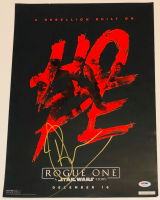 """Ben Mendelsohn Signed LE """"Rogue One: A Star Wars Story"""" 13x19 Poster (PSA COA) at PristineAuction.com"""