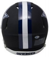 Ezekiel Elliott Signed Dallas Cowboys Matte Black Full-Size Authentic On-Field Speed Helmet (Beckett COA) at PristineAuction.com