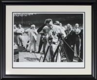 "Lou Gehrig LE ""Iron Horse Hulton"" 23x28 Custom Framed Giclee Display"