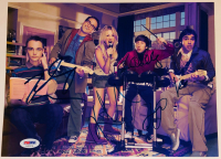 """The Big Bang Theory"" 8.5x11 Photo Signed By (5) with Kaley Cuoco, Johnny Galecki, Jim Parsons, Kunal Nayyar, & Simon Helberg (PSA LOA) at PristineAuction.com"