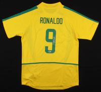 Ronaldo Signed Brazil Nike Jersey (Beckett COA)