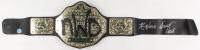 """Scott Hall & Kevin Nash Signed WWE """"New World Order"""" Belt (Pro Player Hologram)"""