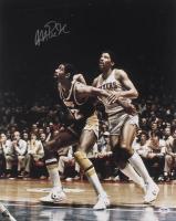 Magic Johnson Signed Los Angeles Lakers 16x20 Photo (PSA COA)