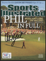 Phil Mickelson Signed 2010 Sports Illustrated Magazine (PSA Hologram)