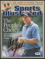 Phil Mickelson Signed 2005 Sports Illustrated Magazine (PSA Hologram)