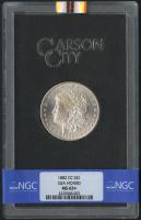 1882-CC $1 Morgan Silver Dollar (NGC MS 63+)
