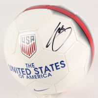 Christian Pulisic Signed USA Logo Soccer Ball (Beckett Hologram)