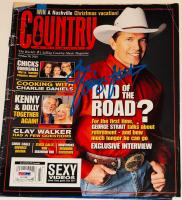 George Strait Signed Country Weekly Magazine (PSA COA)