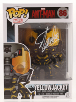 "Stan Lee Signed ""Yellow Jacket"" #86 Funko Pop Vinyl Figure (Radtke COA & Lee Hologram) at PristineAuction.com"
