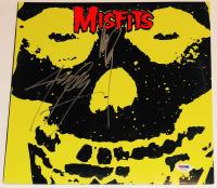 "Glenn Danzig & Jerry Only Signed ""Misfits"" Vinyl Record Album (PSA COA)"