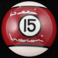 Willie Mosconi Signed #15 Pool Ball (Beckett COA)