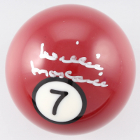 Willie Mosconi Signed #7 Pool Ball (Beckett COA)