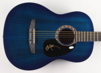 """Willie Nelson Signed 38"""" Rogue Acoustic Guitar (JSA COA) at PristineAuction.com"""