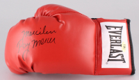 """Ray Mercer Signed Everlast Boxing Glove Inscribed """"Merciless"""" (MAB Hologram) at PristineAuction.com"""