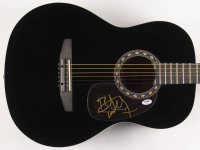 "Bret Michaels Signed 38"" Rogue Acoustic Guitar (PSA COA)"
