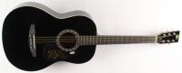 "Bret Michaels Signed 38"" Rogue Acoustic Guitar (PSA COA) at PristineAuction.com"