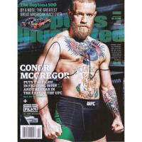 Conor McGregor Signed Sports Illustrated Magazine (Fanatics Hologram) at PristineAuction.com