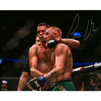 "Conor McGregor Signed ""UFC 202 Final Horn Vs. Diaz"" 16x20 Photo (Fanatics Hologram) at PristineAuction.com"