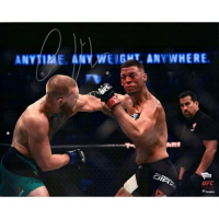 "Conor McGregor Signed ""UFC 202 Punching Diaz"" 16x20 Photo (Fanatics Hologram) at PristineAuction.com"