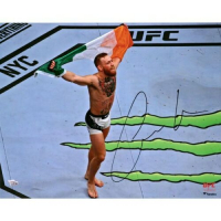 "Conor McGregor Signed ""UFC 205 Celebration"" 16x20 Photo (Fanatics Hologram) at PristineAuction.com"