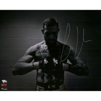 "Conor McGregor Signed UFC ""Black & White"" 16x20 Photo (Fanatics Hologram) at PristineAuction.com"