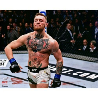 "Conor McGregor Signed UFC ""Bili Strut"" 16x20 Photo (Fanatics Hologram) at PristineAuction.com"