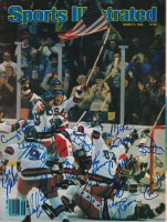 1980 Olympic Team USA Sports Illustrated Magazine Cover Team-Signed by (15) with Herb Brooks, Craig Patrick, Mike Eruzione (JSA LOA)