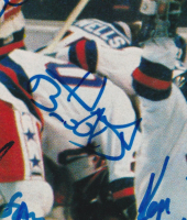 1980 Olympic Team USA Sports Illustrated Magazine Cover Team-Signed by (15) with Herb Brooks, Craig Patrick, Mike Eruzione (JSA LOA) at PristineAuction.com