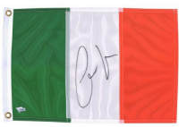 Conor McGregor Signed 12x18 Ireland Flag (Fanatics Hologram) at PristineAuction.com