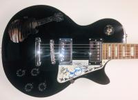 """""""The Monkees"""" Band-Signed Les Paul Style Electric Guitar with (4) Signatures Including Davy Jones, Michael Nesmith, Peter Tork & Micky Dolenz (JSA LOA) at PristineAuction.com"""