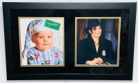 Michael Jackson Signed 15x25 Custom Framed Photo Display with Extensive Inscription (JSA LOA)