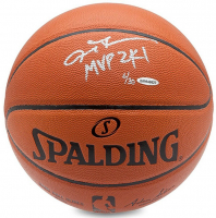 "Allen Iverson Signed Limited Edition Basketball Inscribed ""MVP 2K1"" (UDA COA) at PristineAuction.com"