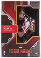 """Stan Lee Signed """"Iron Man Mark VII"""" Marvel Action Figure (Radtke Hologram & Lee Hologram)"""