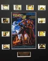 """""""Back to the Future Part III"""" LE 8x10 Custom Matted Original Film / Movie Cell Display"""