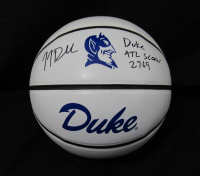"JJ Redick Signed Duke Blue Devils Logo Basketball Inscribed ""Duke ATL Scorer 2769"" (JSA COA)"