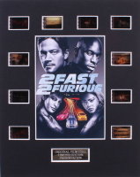 """""""2 Fast 2 Furious"""" LE 8x10 Custom Matted Original Film / Movie Cell Display"""