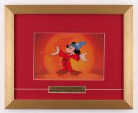 "Mickey Mouse ""The Sorcerer's Apprentice"" 13x16 Custom Framed Animation Cel Display"