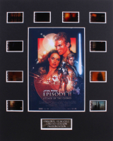 """""""Star Wars: Episode II – Attack of the Clones"""" LE 8x10 Custom Matted Original Film / Movie Cell Display"""