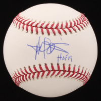 "Harold Baines Signed OML Baseball Inscribed ""HOF 19"" (Beckett COA)"