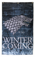 "Kit Harington Signed ""Game Thrones: Winter is Coming"" 30x50 Banner (Radtke COA) at PristineAuction.com"